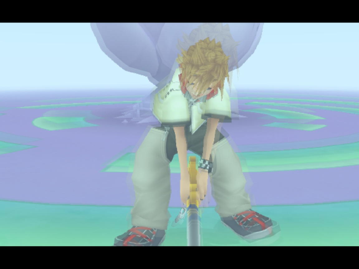 kingdom hearts 2 overlaying issues during cutscenes : PCSX2