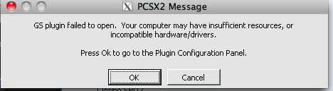 PCSX2 Crossover from windows version errors
