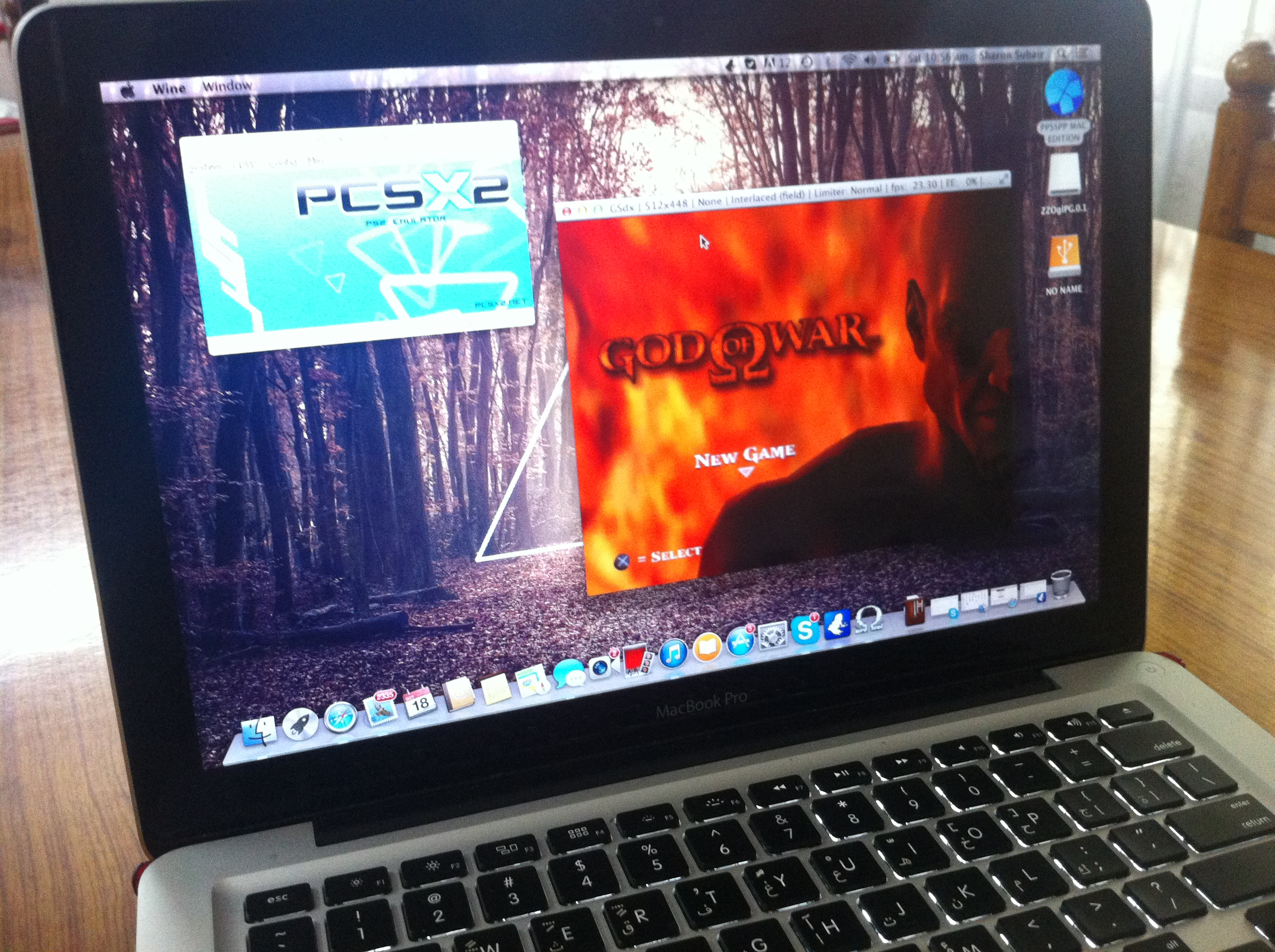 PCSX2 FULLY WORKING ON MAVERICKS  TESTED  WINESKIN BUNDLE