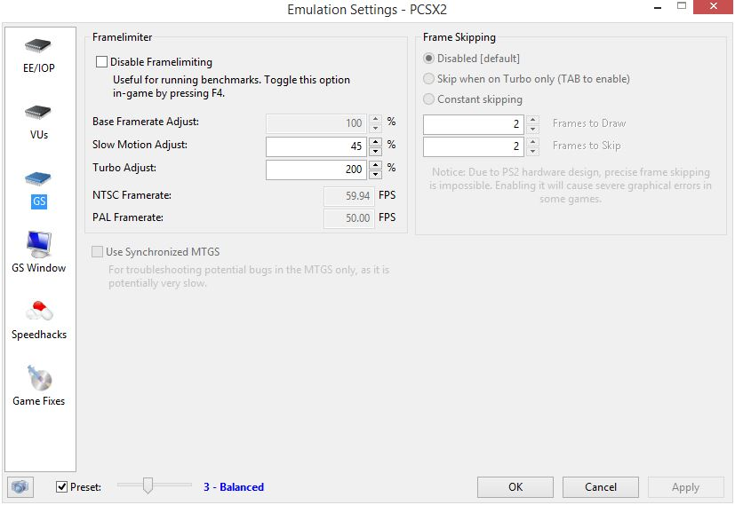 Smooth Settings For Kingdom Hearts Emulator In Laptop